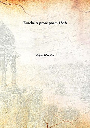 9789332885158: Eureka A prose poem 1848 [Hardcover]