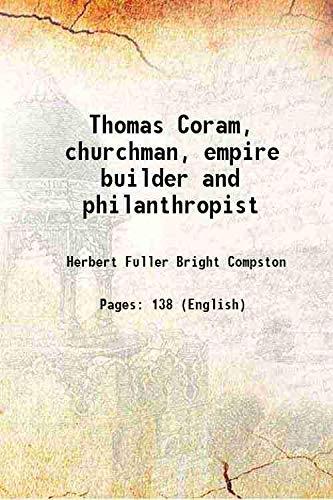 9789332888753: Thomas Coram, churchman, empire builder and philanthropist