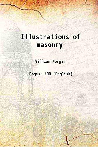 9789332891357: Illustrations of masonry