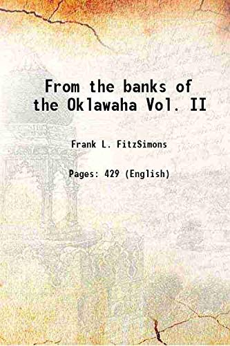 9789332897267: From the banks of the Oklawaha Vol. II