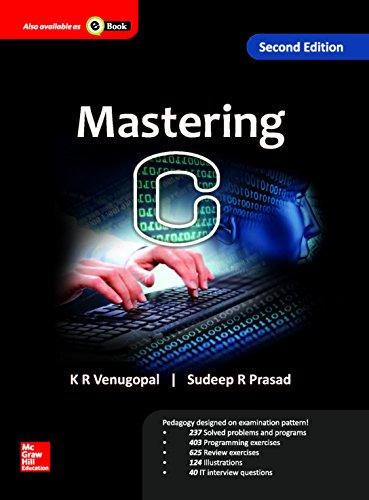 9789332901278: Mastering C