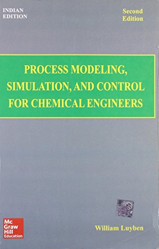 Process Modeling Simulation And Control For Chemical: Luyben W.L.