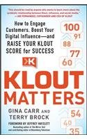 Klout Matters: Gina Carr, Terry Brock