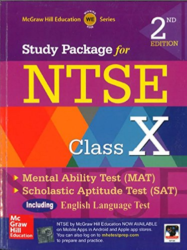 9789332902534: Study Package for NTSE Class X