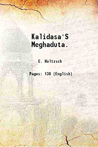 9789333102667: Kalidasa's Meghaduta.