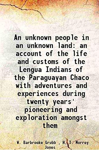 An unknown people in an unknown landan