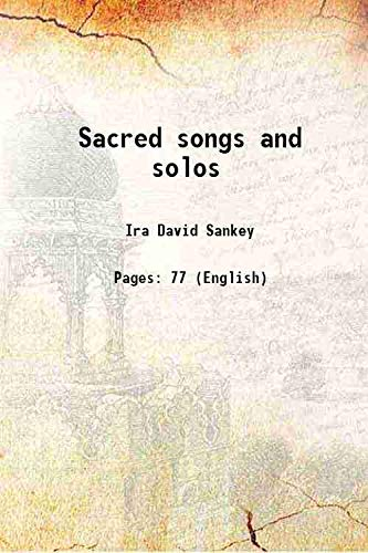 9789333106313: Sacred songs and solos