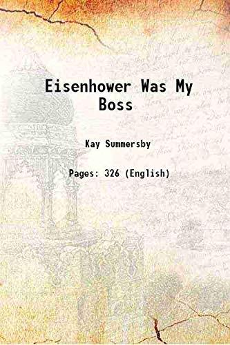9789333107037: Eisenhower Was My Boss
