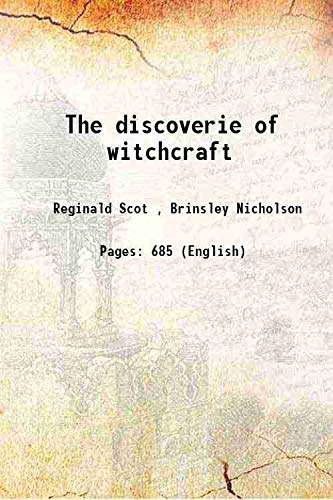 9789333108836: The discoverie of witchcraft