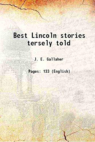 9789333109796: Best Lincoln stories tersely told