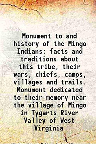 Monument to and history of the Mingo: William Henry Cobb