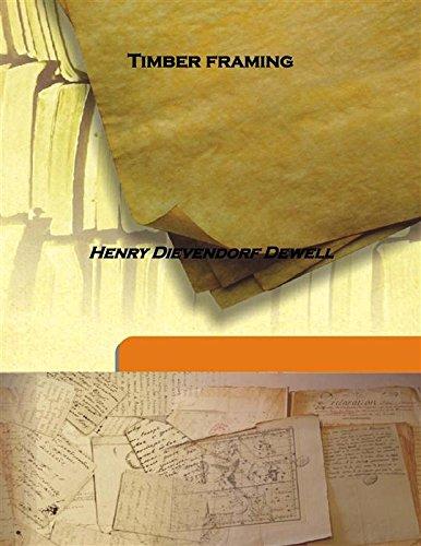 9789333152259: Timber framing