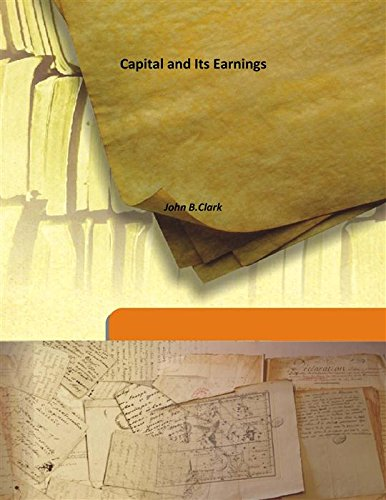 9789333157629: Capital and Its Earnings