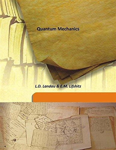 Quantum Mechanics [Hardcover]: L.D. Landau &