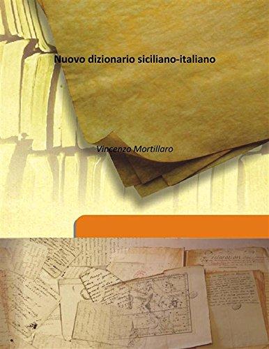 9789333161114: Nuovo dizionario siciliano-italiano