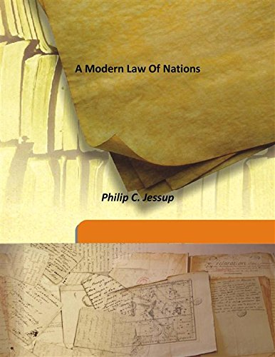 9789333162968: A Modern Law Of Nations