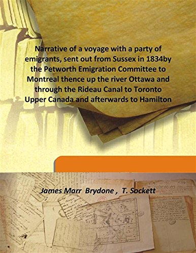 Narrative of a voyage with a party: James Marr Brydone