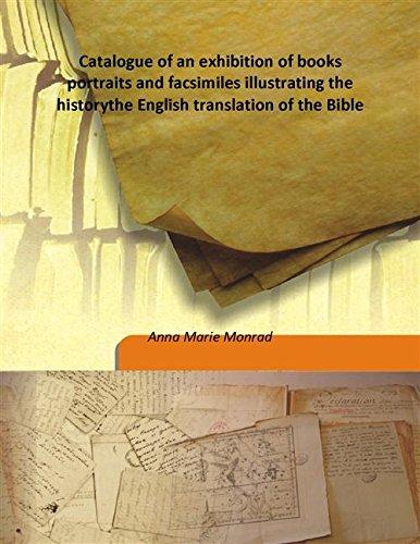 Catalogue of an exhibition of books portraits: Anna Marie Monrad