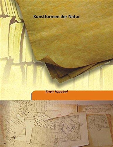 9789333191586: Kunstformen der Natur Volume 1 1904 [Hardcover]