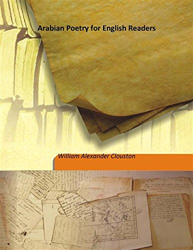 9789333191692: Arabian Poetry for English Readers