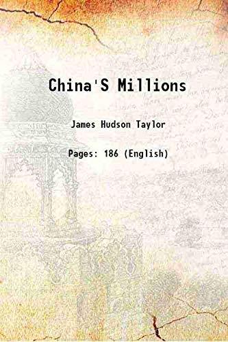 9789333199049: China's millions 1890 [Hardcover]