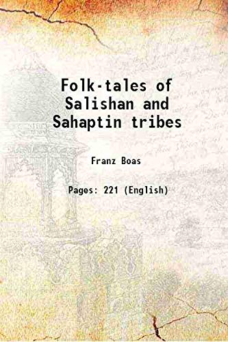9789333302661: Folk-tales of Salishan and Sahaptin tribes 1917 [Hardcover]