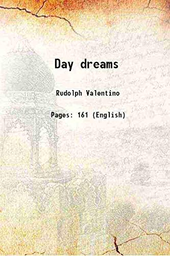 9789333314527: Day dreams 1923 [Hardcover]