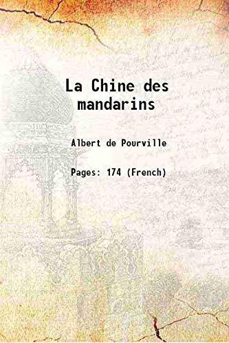 9789333314718: La Chine des mandarins 1901 [Hardcover]
