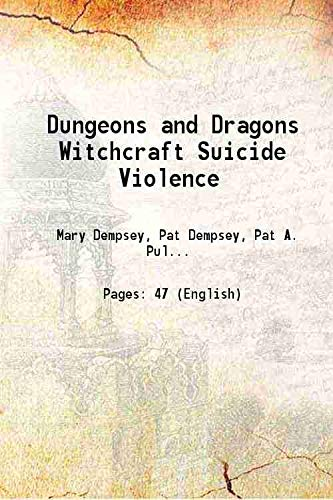 9789333317887: Dungeons and Dragons Witchcraft Suicide Violence [Hardcover]