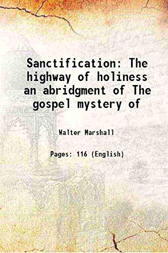 9789333318808: Sanctification The highway of holiness an abridgment of The gospel mystery of 1884 [Hardcover]