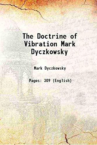 9789333321273: The Doctrine of Vibration Mark Dyczkowsky [Hardcover]