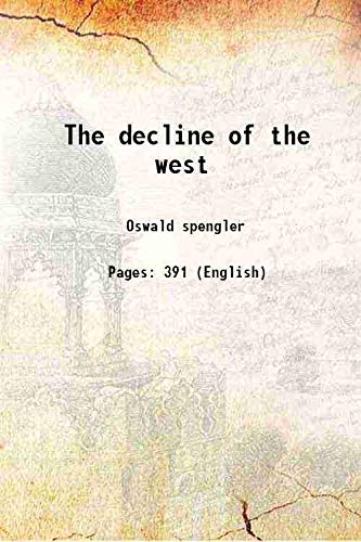 9789333334792: The decline of the West