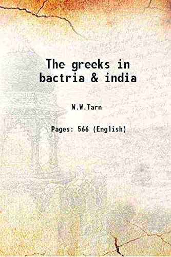 9789333334822: The greeks in bactria & india [Hardcover]