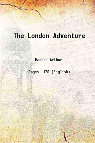 9789333337571: The London Adventure 1924 [Hardcover]