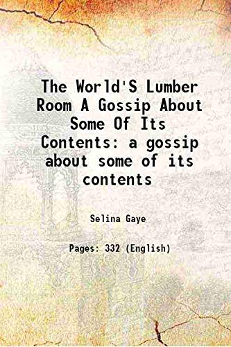 lumber room essay The analysis of the text the lumber - room by h munro the text under analysis is written by an outstanding british novelist and a short - story writer hector munro.