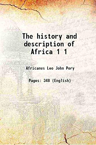 9789333344180: The History And Description Of Africa [Hardcover]