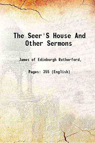 9789333344616: The Seer'S House And Other Sermons [Hardcover] [Hardcover]