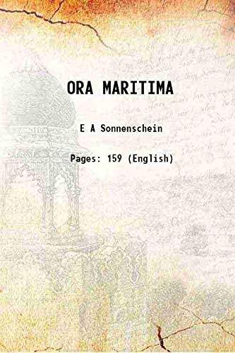 9789333352840: ORA MARITIMA 1906 [Hardcover]