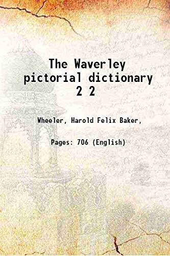 9789333362603: The Waverley pictorial dictionary Volume 2 [Hardcover]