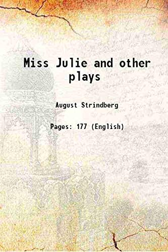 9789333366588: Miss Julie and other plays [Hardcover]