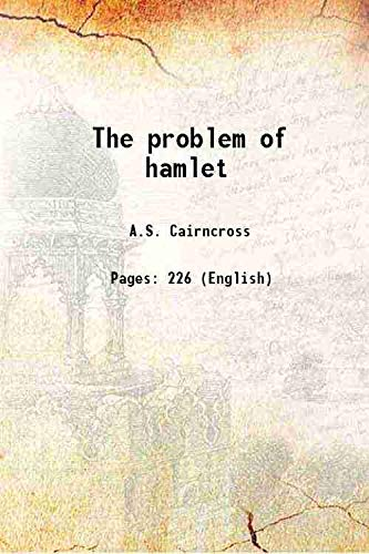 9789333393263: The problem of hamlet [Hardcover]