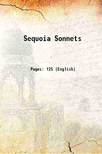 Sequoia Sonnets 1919: Anonymous