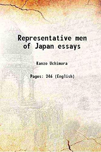 Representative men of Japan essays 1908: Kanzo Uchimura