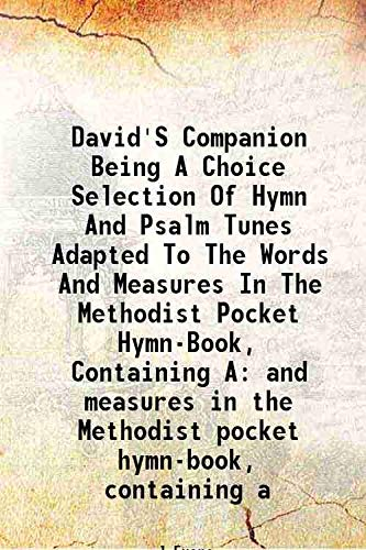 David's Companion Being A Choice Selection Of: J Evans