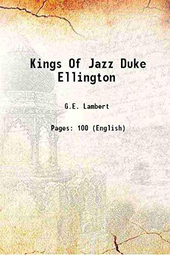Kings Of Jazz Duke Ellington: G.E. Lambert