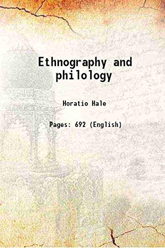 9789333615228: Ethnography and philology 1846 [Hardcover]