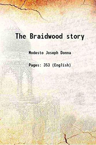 9789333616034: The Braidwood story 1957 [Hardcover]