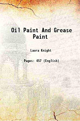 9789333638036: Oil Paint And Grease Paint [Hardcover]