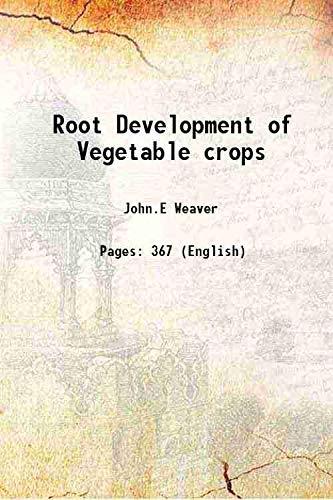 9789333640336: Root Development of Vegetable crops [Hardcover]