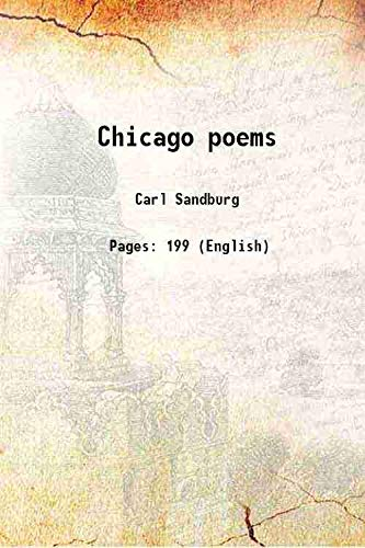 9789333645003: Chicago poems 1916 [Hardcover]
